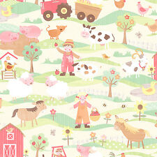Essener Tiny Tots g45131 Papel pintado Granja Tractor habitación infantil