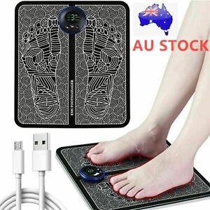 Electric Foot Massager EMS Feet Massage Machine Circulation Booster 6 Modes