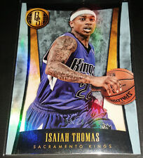 Isaiah Thomas 2013-14 Panini Gold Standard PLATINUM Parallel Card (#'d 06/10)