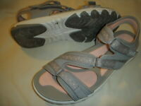 Ryka Ginger Adjustable Lightweight Sport Sandals w/Re-Zorb Lite Footbed Women's
