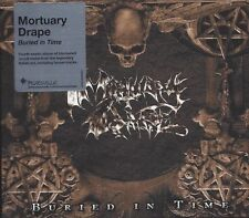 Mortuary Drape - Buried in Time CD 2013 reissue black metal Italy Peaceville