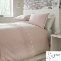 Serene POM POM Blush Easy Care Duvet Cover Set