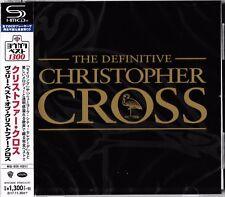 DEFINITIVE CHRISTOPHER CROSS 2017 JAPAN RMST SHM CD - BRAND NEW GIFT QUALITY!