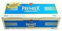 Premier Supermatic Blue (Light) - 100mm Cigarette Tubes (5-Boxes)