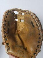 Vintage Newport 3012 Baseball Glove Full Grain Genuine Cowhide RHT 1st Base