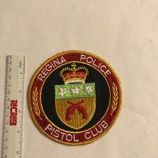 Regina Police Pistol Club Patch, SK  Canada