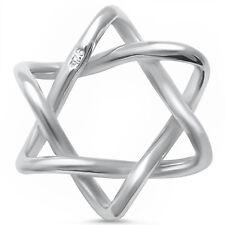 Star of David .925 Sterling Silver Pendant