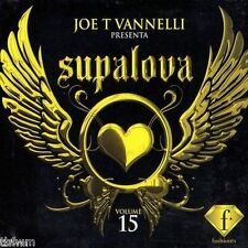 Joe T Vannelli - Supalova Club Vol. 15 - 2CD NEU OVP - HOUSE TRANCE ELECTRO