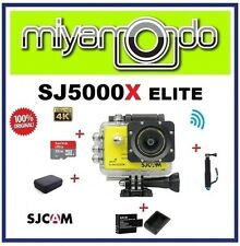SJCAM SJ5000X WiFi Action (Yellow) + Monopod + Sandisk 32GB + Batt+Charger + Bag