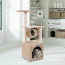 New listing Cat Tree Tower Condo Furniture Play Toy Kitten Pet House with Scratching Post