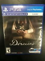 Deracine PS4 PSVR Complete CIB Tested Playstation 4 Sony