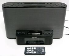 Sony (Icf-Cs10iP) Fm / Am Alarm Clock Radio Speaker Dock For iPod / iPhone Used