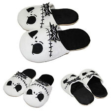 Nightmare Before Christmas Jack Skellington Adults Plush Slippers Soft Warm Gift