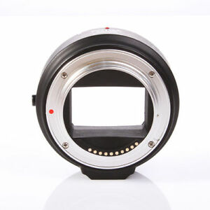 FOTGA Electronic Auto Focus Adapter Canon EOS EF-S Lens to Sony NEX 3 5 A7 R FF