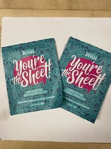 Perfectly Posh You're The Sheet! x2 Hydrating Sheet Mask Oatmeal Chamomile Aloe