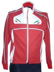 CYCLING JACKET Windproof RED Road SANTINI Acqua