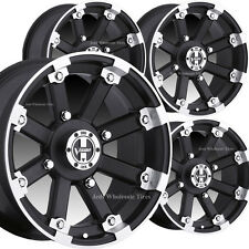4) Mini-Truck RIM WHEEL 12x7 4/100 4+3 Vision 393 LOCK OUT MBML DOT