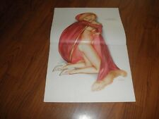 "VARGAS GIRL PIN-UP -""Valentine Ball"" -Original Mag Print-Valentines Day Theme"