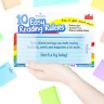 10 x Dyslexia Reading Strips with Coloured Overlays. Reading Tracking Rulers for