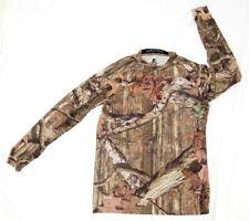 Starter men's long sleeve t-shirt size M camouflage Mossy Oak polyester blend