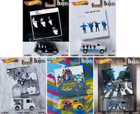 The Beatles Pop Culture 2019 Set 5 pcs 1:64 Hot Wheels DLB45