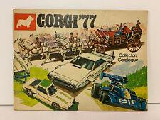 Vintage Corgi Toys Catalogue 1977 UK Edition 48 Pages-Excellent Condition