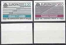FRANCIA EUROPA Nº2531/2532 SELLO NO DENTADO IMPERF 1989 NEUF LUXE MNH