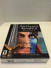 Arthur's Knights Tales  Of Chivalry Legend Of Round Table Merlin King PC New