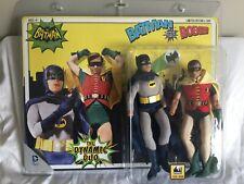 """Batman and Robin Classic TV retro mego 8"""" Figures"""