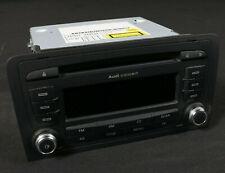 Audi A3 8P Facelift Car Radio Concert II + 2 Din CD MP3 8P0035186P Blaupunkt