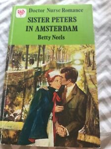 Sister Peters in Amsterdam Betty Neels Vintage Paperback Mills and Boon Romance