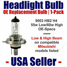 Headlight Bulb Low/High OE Replacement Fits Listed Mitsubishi Models - 9003