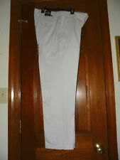 New Men's Stone Color Classic Straight Fit Chaps Pants 33x30 w/Tags MSRP-$60
