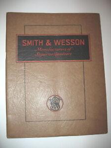 ORIGINAL SMITH & WESSON 1920/ 1930 CATALOG