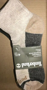 4 Pairs  Of Timberland Outdoor Leisure Cushioned Men's Ankle Socks