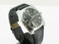 Vintage Sekonda 18 Jewels Shockproof De Luxe Manual Wind Gents Mans Watch