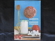 Cuisine ! Tout savoir sur les desserts et les boissons fraîches !  C30