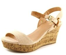 New - Women's Mix No. 6 Zessi Natural Wedge Sandals Size 10