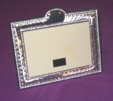 VINTAGE 2000 STYLISH EMBOSSED STERLING SILVER EASEL PHOTO PICTURE FRAME ANTIQUE