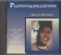 BILLIE HOLIDAY / PLATINUM COLLECTION * NEW CD * NEU *