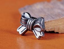 50pc 15*12MM Lovely Cute Bow Knot  Rapid Rivet Leathercraft Studs Decor Conchos