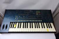 Korg MS2000 Analog Modeling Synthesizer Vintage Blue Junk Only Power On Rare
