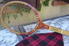 raquette de tennis en bois Florence de la Courtie