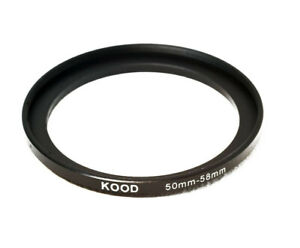 Stepping Ring 50-58mm 50mm to 58mm Step Up Ring Stepping Rings 50mm-58mm