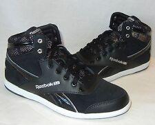 Reebok Women's BB7700 Mid Jacquard Black Sneakers Retail $65 size 8