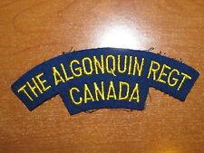 Canadian Shoulder Flash Algonquin Regiment nice