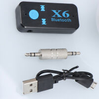 Mini Auto Bluetooth Wireless 3.5mm AUX Empfänger Adapter Stereo Musik Audio