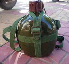 Chinese ARMY PLA Military Issue Aluminium Water Bottle Mess Kit Camping Hiking