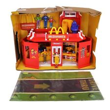 McDonalds Play Restaurant 2003 Play Mat Fold Out Carry Along 81234
