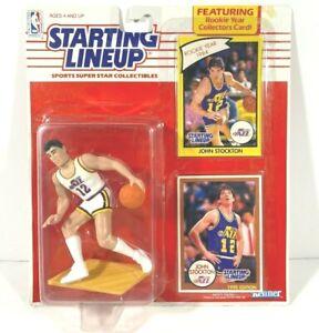 1990 Edition Starting Lineup NBA Basketball John Stockton #12 Utah Jazz SEALED